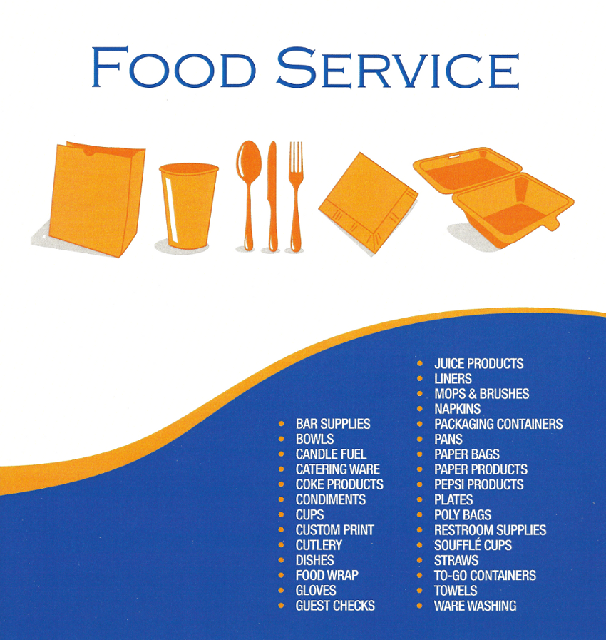 food service paper products Paper converting for the food service and packaging industry all jay james inc products can be labeled to your specifications, including bar coding.